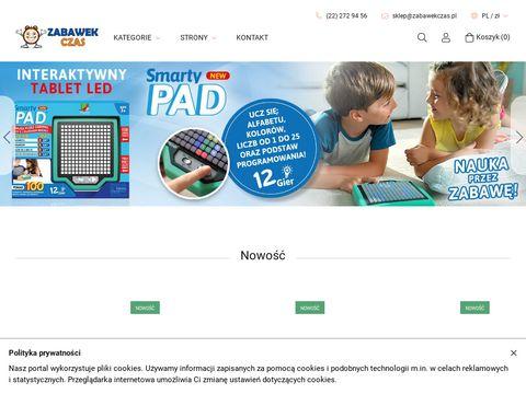 Zabawekczas.pl internetowy sklep z zabawkami