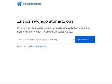 Znajdzstomatologa.pl dentystę