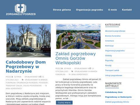 Zorganizujpogrzeb.pl artykuły pogrzebowe
