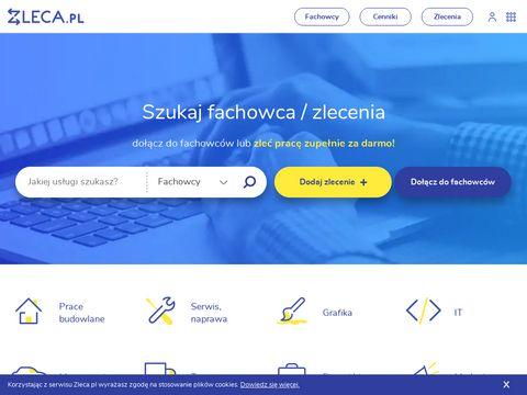 Zleca.pl fachowcy w jednym miejscu