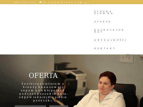 Zwolen.habzafinanse.com.pl doradcy kredytowi
