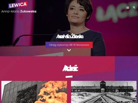 Zukowska.com.pl - SLD Warszawa
