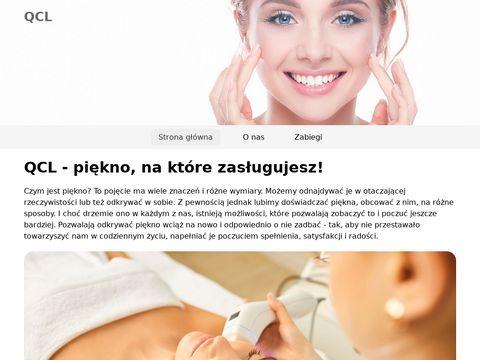 Qcl.pl zabiegi kosmetyczne