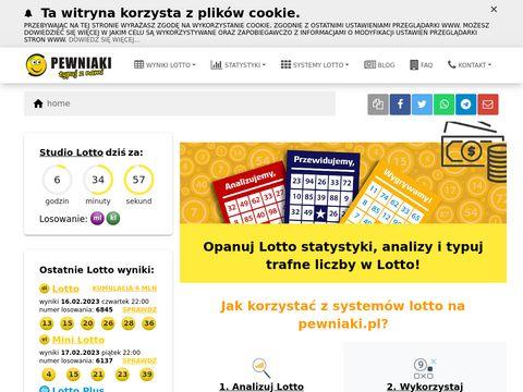 Pewniaki.pl lotto