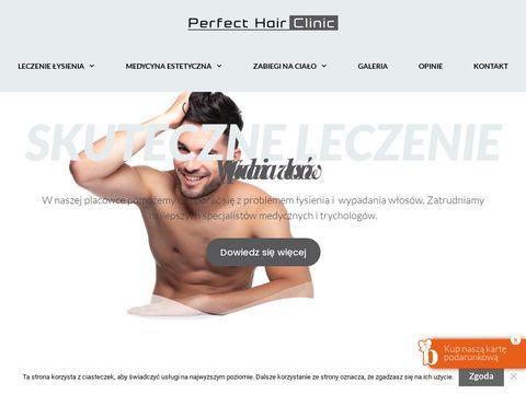 Perfecthairclinic.pl klinika trychologii Katowice
