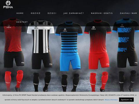 Pehasports.com producent odzieży sportowej