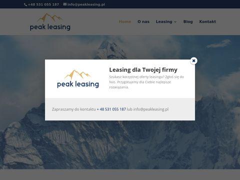 Peakleasing.pl pojazdów