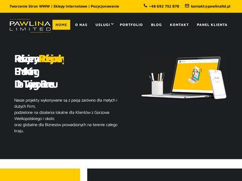 Pawlinaltd.pl agencja interaktywna Gorzów