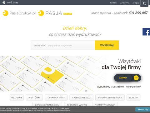 Pasjadruk24.pl drukarnia online w Bielsku-Białej