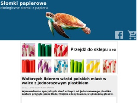 Webinspire kompostowalne słomki papierowe