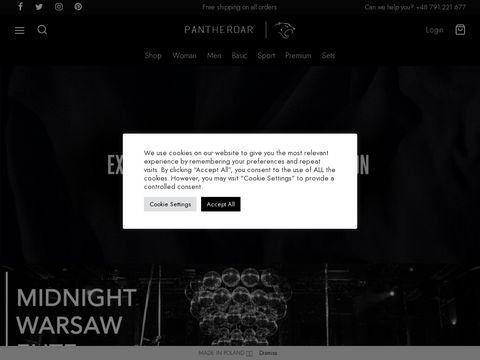 Pantheroar.com polska marka odzieżowa