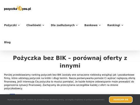 Pozyczka4you.pl finansowanie osób ze złą historią