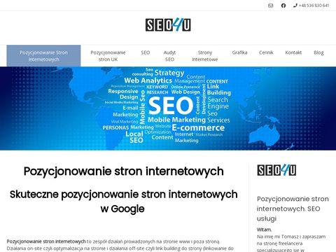 Pozycjonowanie4u.pl stron