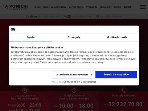 Ponicki.pl przeglądy rejestracyjne