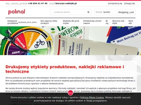Polinal.eu producent naklejek