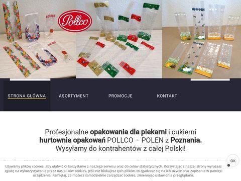 Pollco.pl opakowania foliowe papier dla cukierni