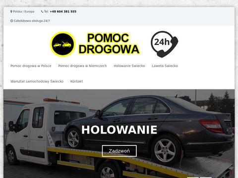 Pomoc-drogowa-swiecko.com.pl 24h
