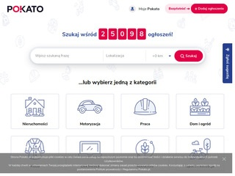 Pokato.pl darmowy portal ogłoszeniowy