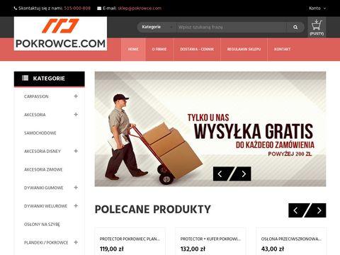 Pokrowce.com samochodowe miarowe i uniwersalne