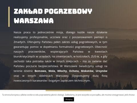 Pogrzeby24.waw.pl zakłady Warszawa