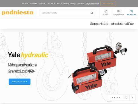 Podniesto.pl wciągarki łańcuchowe elektryczne