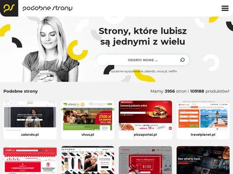 Podobnestrony.pl - wyszukiwarka