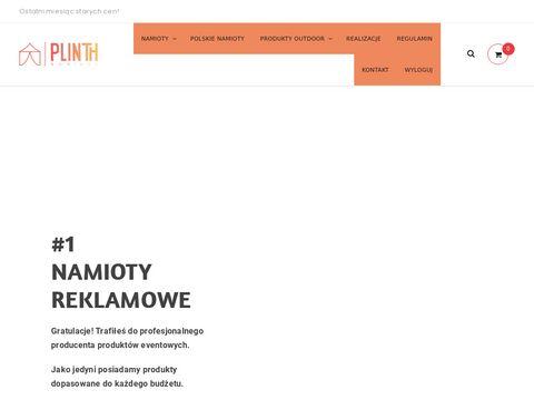 Plinth.pl namioty reklamowe