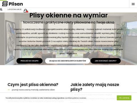 Plisan.pl plisy na okna