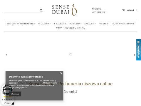 Pl.sensedubai.com naturalne perfumy