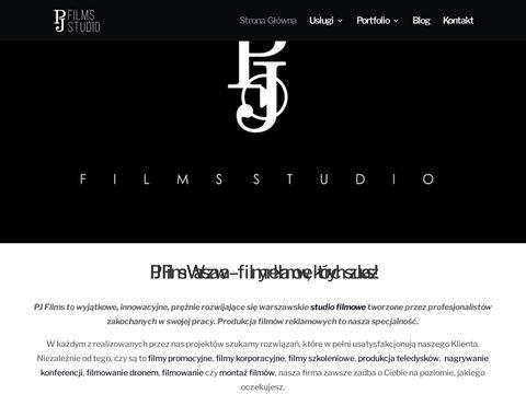 Pjfilmsstudio.pl wideofilmowanie w Warszawie