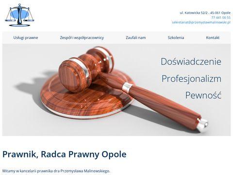 Przemyslawmalinowski.pl prawnik