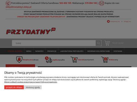 Przydatny.pl sklep internetowy Metalzbyt hurt