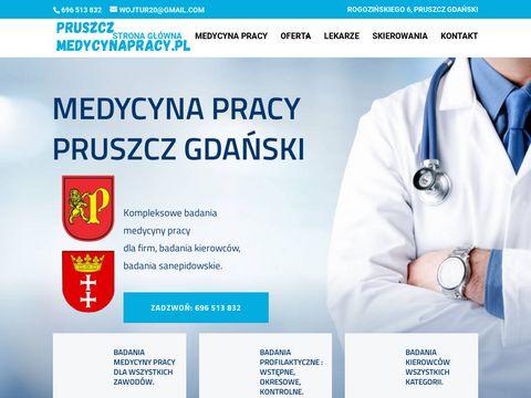 Pruszczmedycynapracy.pl