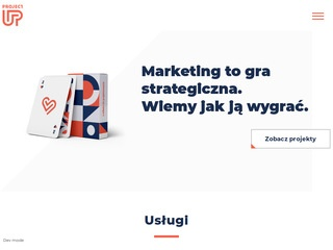Projectup.pl budowa stron internetowych Gdynia