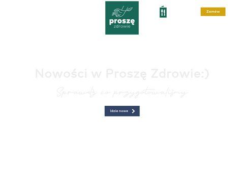 Proszezdrowie.pl catering