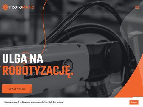 Protomatic.pl robot spawalniczy