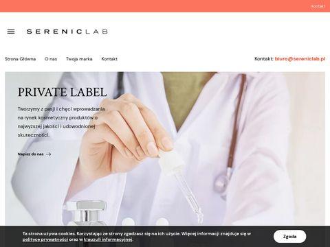 Kosmetyki pod Twoją markę - sereniclab.pl