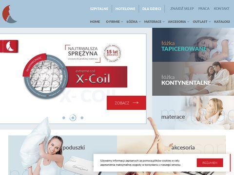Senactive.pl łóżka kontynentalne