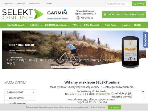 Selekt.online zegarki radary i lokalizatory GPS