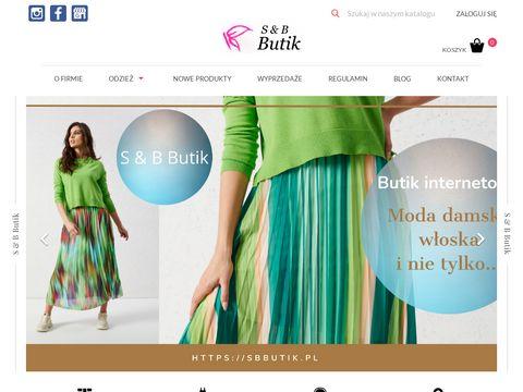 Sbbutik.pl włoskie kombinezony damskie