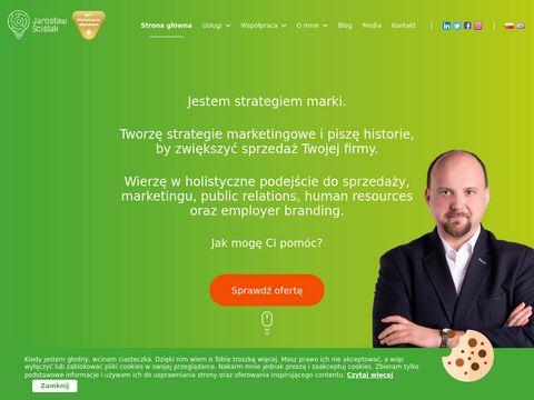 Scislak.com usługi marketingowe