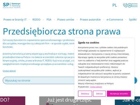 Sawaryn.com podwyższenie kapitału zakładowego
