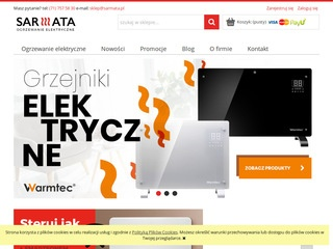 Sarmata.pl sklep z grzejnikami