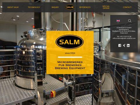 Salm-austria.com minibrowar produkcja piwa