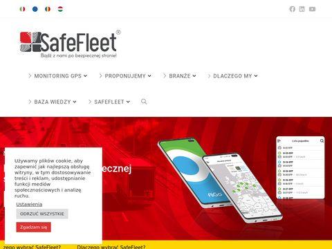 Safefleet.pl zarządzanie flotą pojazdów