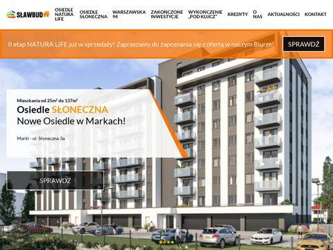 Slawbud.pl inwestycje mieszkaniowe