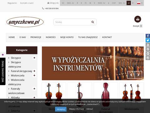 Smyczkowe.pl internetowy sklep muzyczny