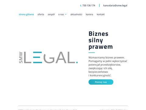 Smwlegal.pl radca prawny Kraków