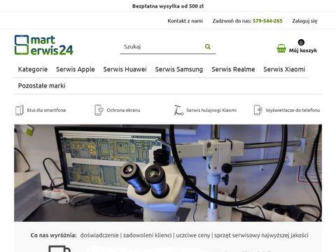 Smartserwis24.pl wymiana szybki Samsung