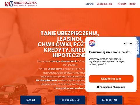 Sm-ubezpieczenia.pl tanie OC AC Lublin